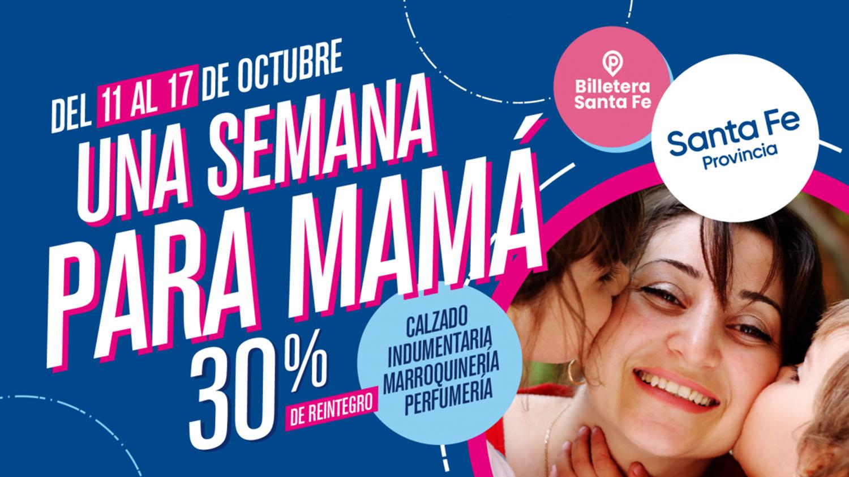 Billetera Santa Fe: se extiende una campaña de promoción de ventas por el día de la Madre